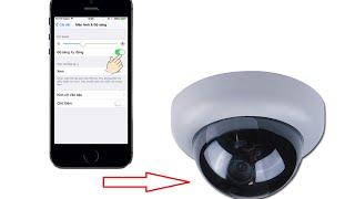 Biến điện thoại smartphone thành camera giám sát - Cấu hình xem qua mạng