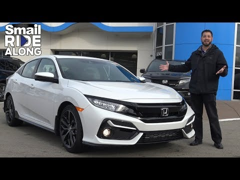 2020 Honda Civic Sport Touring Hatchback Review & Test Drive