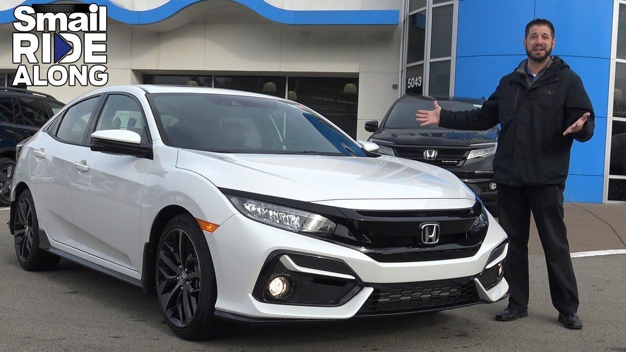 2020 Honda Civic Sport Touring Hatchback Review & Test Drive