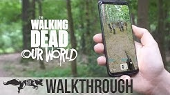 HOW TO PLAY THE WALKING DEAD OUR WORLD