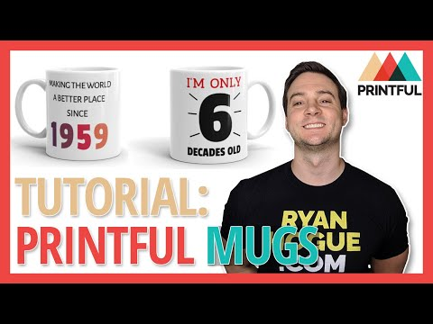 Printful Coffee Mugs Tutorial: Research + Design + Sample Order (20% Off + Free Shipping)