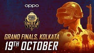 Grand Finals - [HINDI] OPPO X PUBG MOBILE India Tour- Live from Kolkata | Day 1