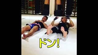 有名なGACKTさんが実は結構強そうです。 格闘家の梅野源治選手もびっく...