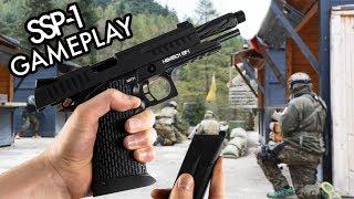 NOVRITSCH SSP1 - Airsoft Pistol Gameplay
