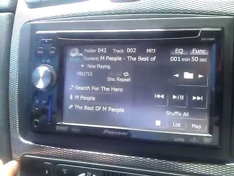 Pioneer Avic f900BT UK Firmware 1 9 boot up time