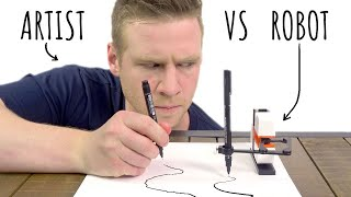 ARTIST V.S ROBOT - Who can DRAW the best?!
