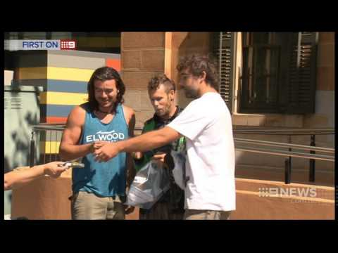 Busted Backpackers | 9 News Adelaide