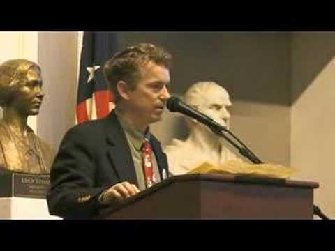 Rand Paul at Faneuil Hall (Part 1 of 2)