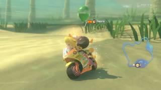 Wii U - Mario Kart 8 - (GCN) Desierto Seco-Seco - Batalla de globos