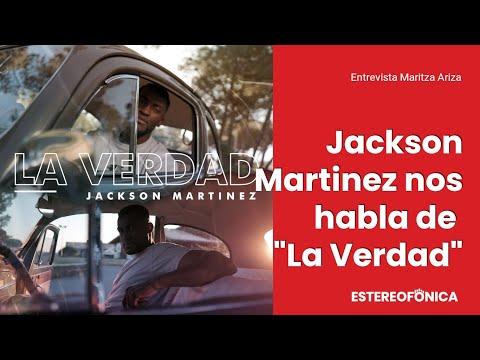 """Jackson Martínez nos habla de """"La verdad"""", su nuevo sencillo   Estereofonica"""