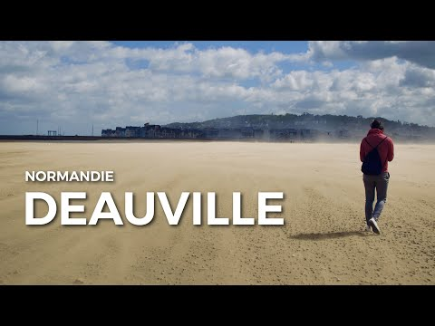 DEAUVILLE | The amazing beach town of Normandy that literally blew us off our feet! Travel Vlog #61