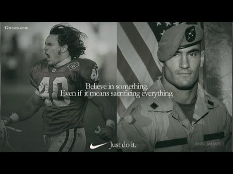 hot sale online 92794 a4d85 Pat Tillman's friends say keep his name out of the Kaepernick Nike ad debate
