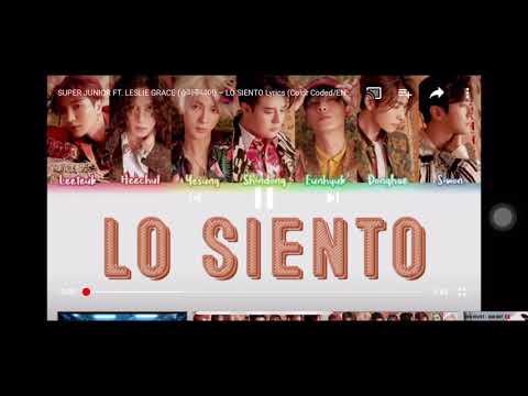 """Lo Siento"" Super Junior Ft. Lesile Grace 1 Hour Loop"