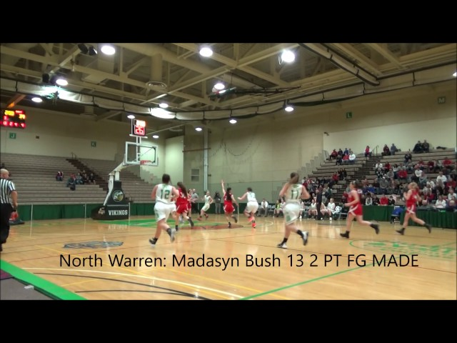Game Highlights Girls' Varsity: Moriah vs North Warren