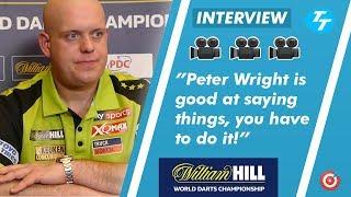 Michael van Gerwen RESPONDS to Peter Wright comments: