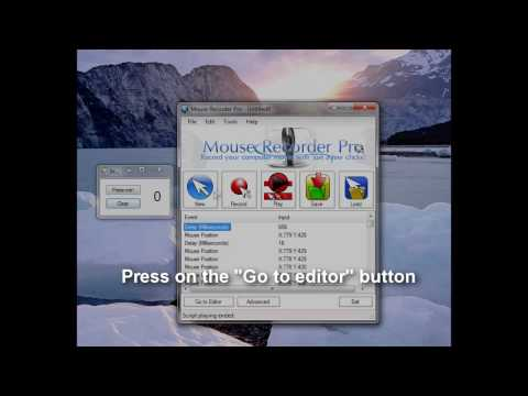 Mouse Recorder Pro 2 - Advanced User Tutorial Replay Your Scripts, Modify Your Scripts.