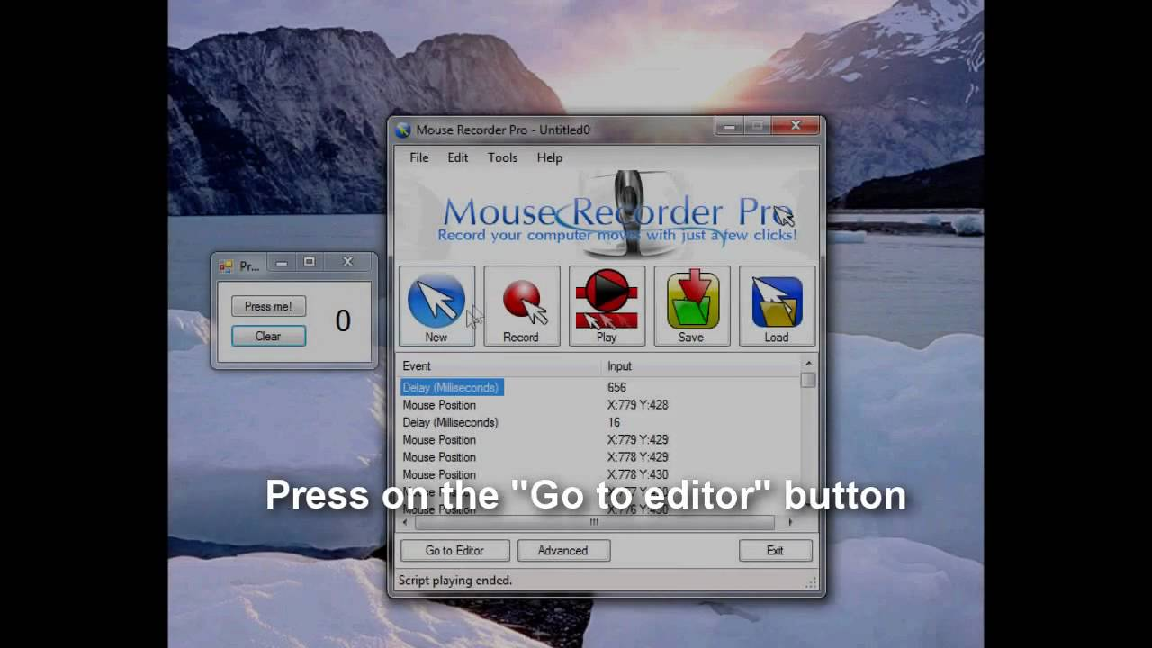 Mouse Recorder Pro 2 Advanced User Tutorial Replay Your Scripts