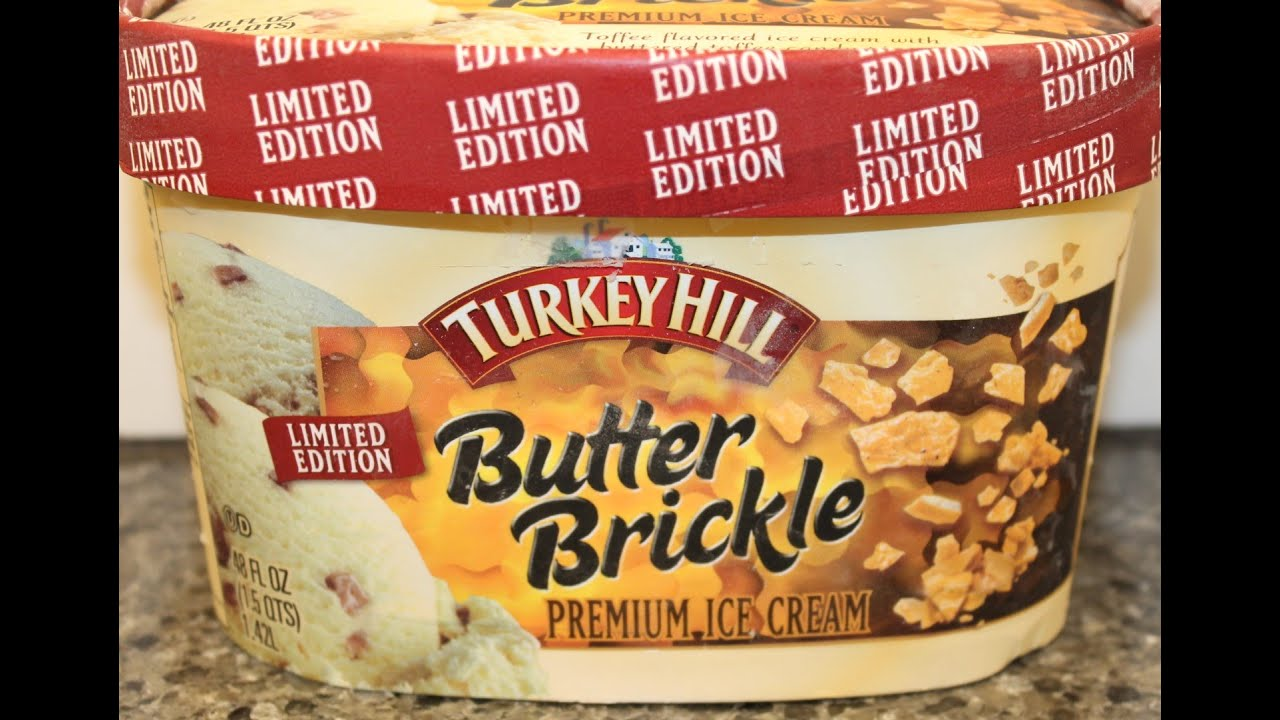 Turkey Hill: Butter Brickle Ice Cream Review..
