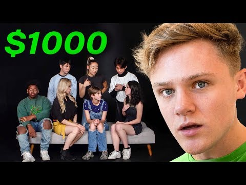 High School Students Try To Decide Who Gets $1,000