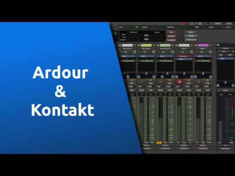 Ardour & Kontakt Player on Ubuntu
