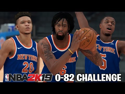 Can I Go 0-82 In NBA 2K19?