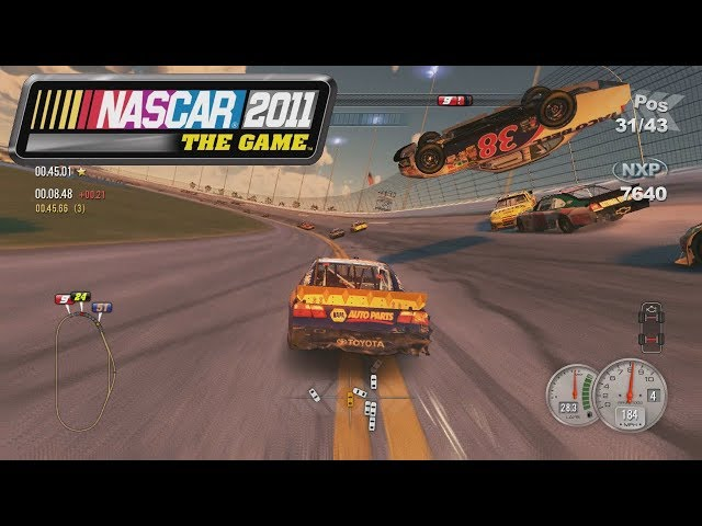 LAST LAP BIG ONE! - NASCAR The Game 2011: Daytona