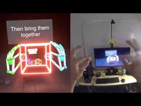 Leap Motion Blocks for Oculus Rift Playthrough