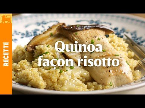 Quinoa façon risotto