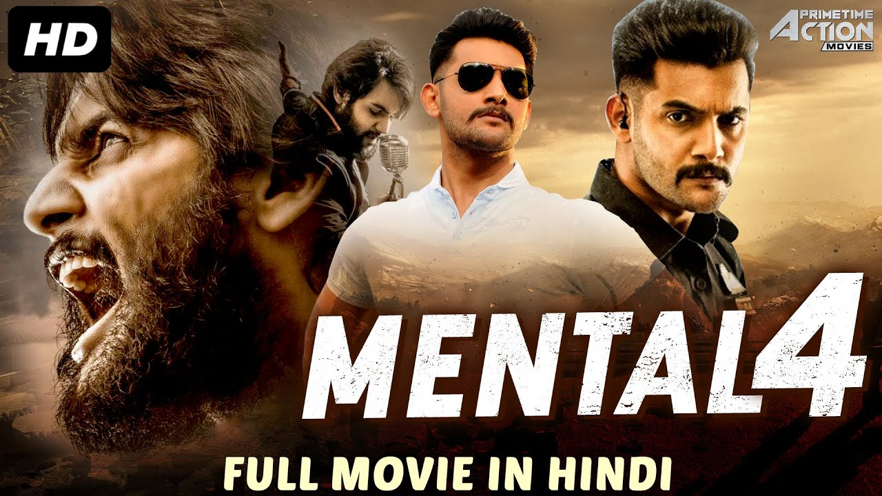 Download MENTAL 4 - Hindi Dubbed Full Action Romantic Movie   South Indian Movies Dubbed In Hindi Full Movie