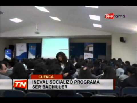 INEVAL socializó programa ser bachiller