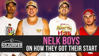 Nelk Boys on How They Got Their Start, First meeting Steve Will Do It