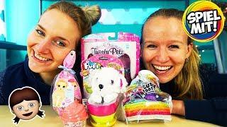 5 NEUE MÄDCHEN SPIELZEUGE - Baby Born Surprise, Cutie Tooties, Twisty Pets, Num Noms & Pups in Cups