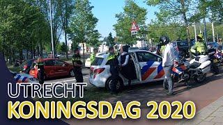Politie | Koningsdag 2020 in Utrecht | Michael en JanWillem | Achtervolging | Aanhouding en meer