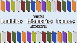 Minecraft 1.8 Tutorial: Bandeiras Estandartes Banners