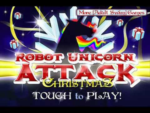 Robot Unicorn Attack-Christmas ( song download )