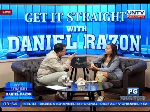 Political columnist and blogger Sass Rogando Sasot on Get it Straight