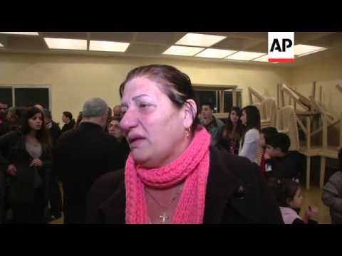 People gather in support of abducted Assyrian Christians