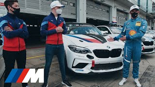 BMW M Trackday at the Nürburgring with the BMW Junior Team.