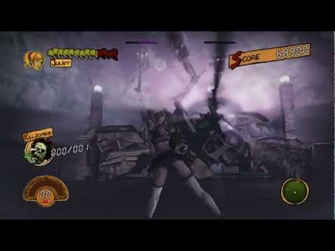 Lollipop Chainsaw 1080P Full HD XBOX 360 Episode 10 - Farm Part 2