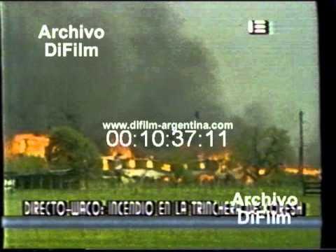 DiFilm - En vivo incendio en Waco Texas - La Masacre de Waco (1993)