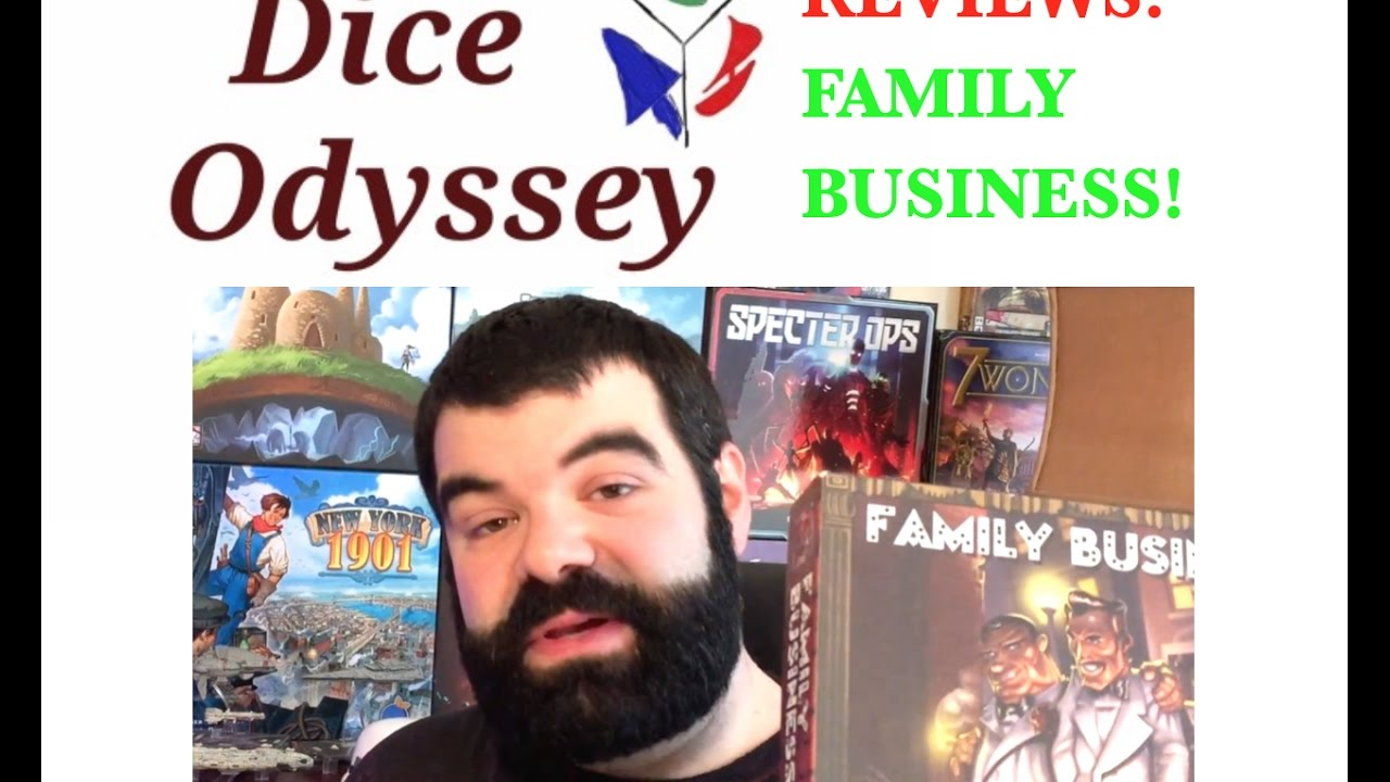 Family business card game review youtube family business card game review reheart