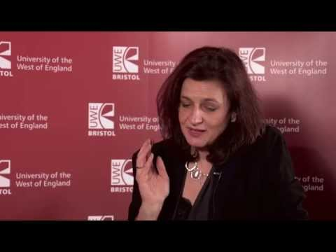 Caroline Norbury, CEO of Creative England interview at UWE Bristol