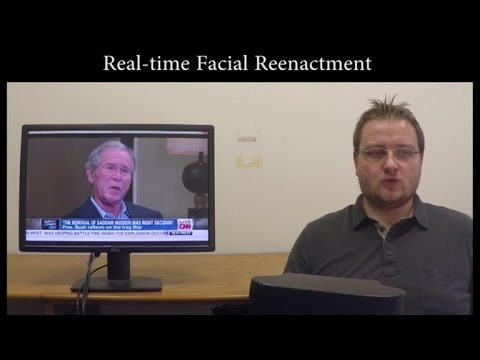 New video technology changes appearance in real-time