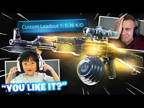 RANDOM DUOS, but we used each others LOADOUTS...(Best Reactions)