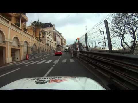 Drive through Monaco in supra