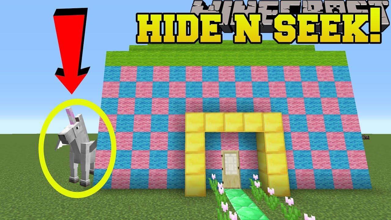 Download Minecraft: UNICORNS HIDE AND SEEK!! - Morph Hide And Seek - Modded Mini-Game