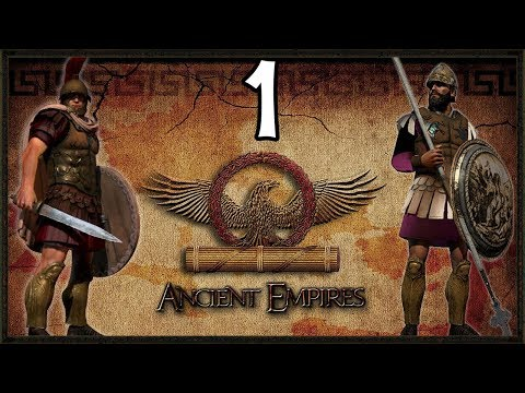Rise Of ROME! - Ancient Empire Total War Rome Campaign #1