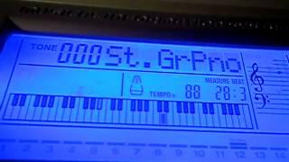 видео-урок - Крылатые качели (синтезатор).