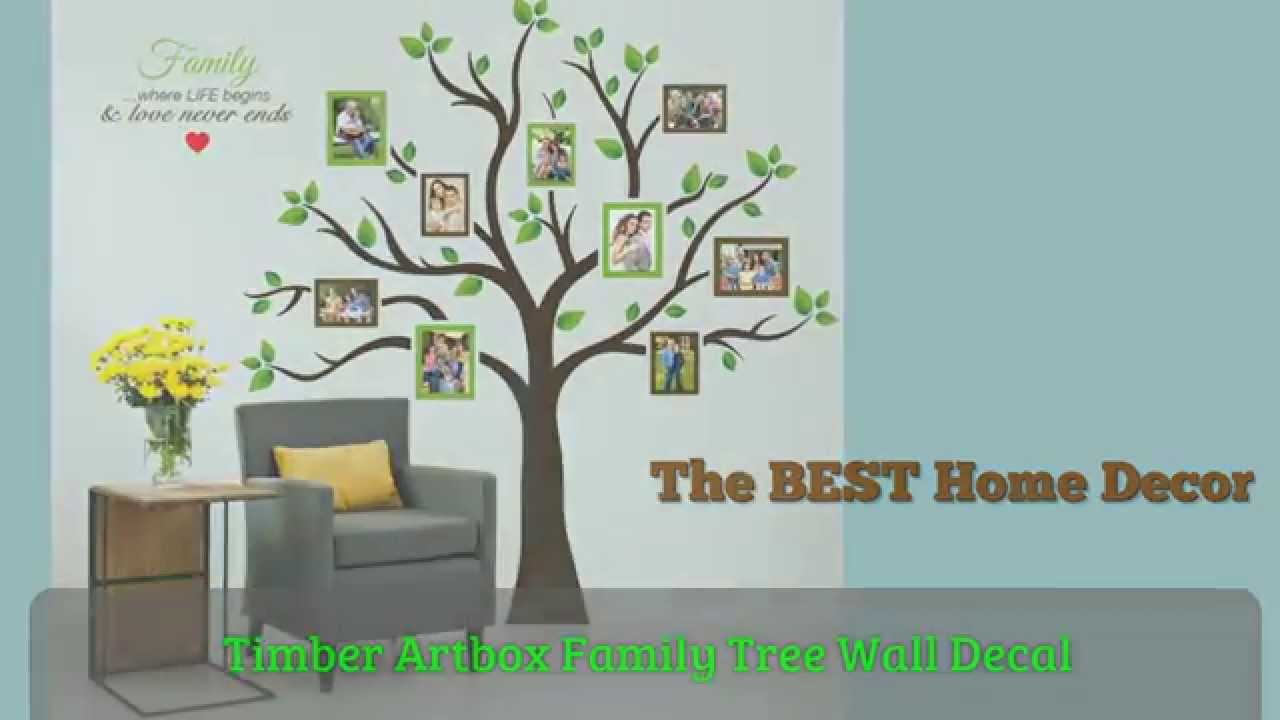Timber Artbox Family Tree Wall Decal   Add So Much Life U0026 Love To Home