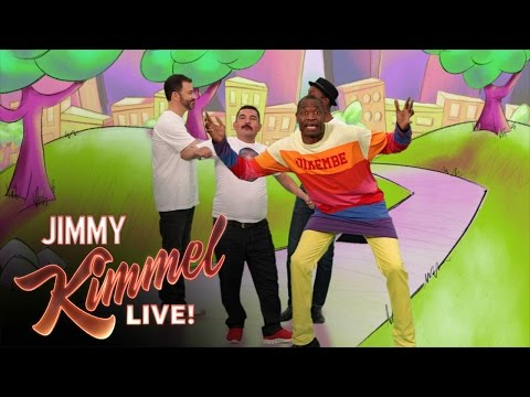 The Dikembe Mutombo Song with Jimmy Kimmel and Aloe Blacc